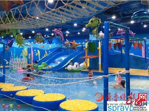 思普瑞德室内儿童水上乐园儿童游乐行业下一个